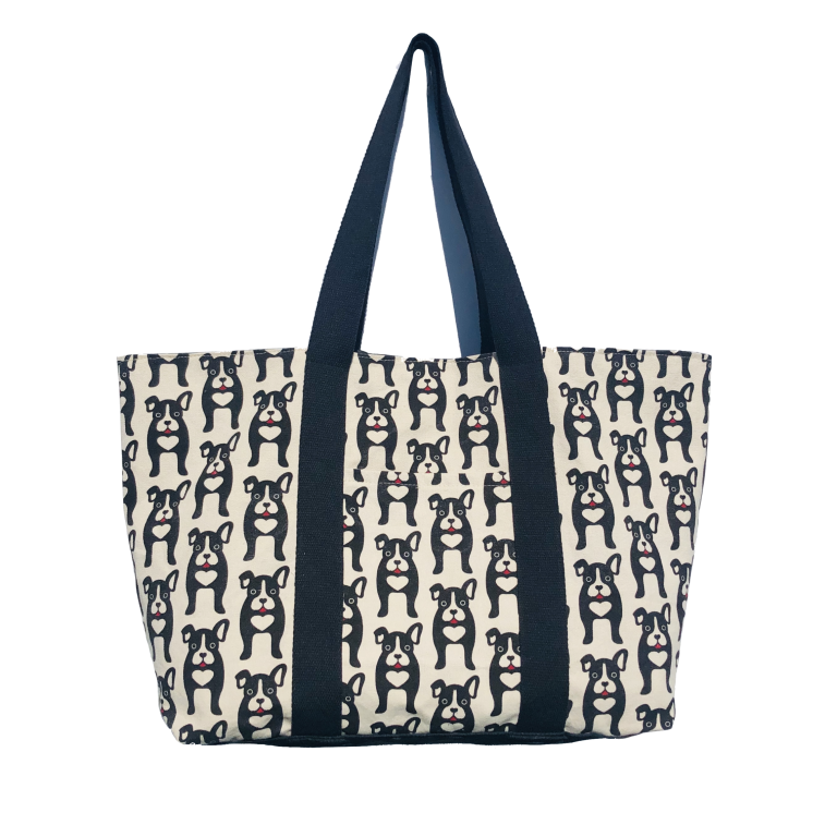Frenchy Dog Tote Bag