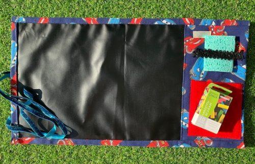 Roll-up Chalk Mat Lightning McQueen