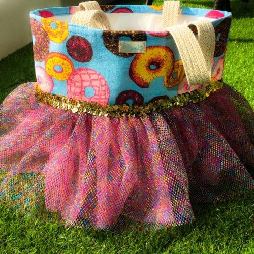 doughnut ballet bag