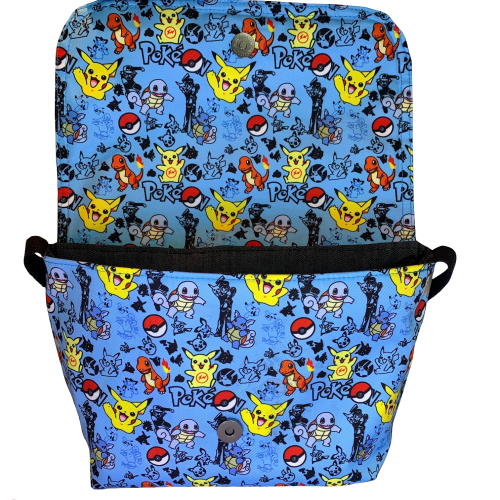 Pokemon Little Man Bag Open view