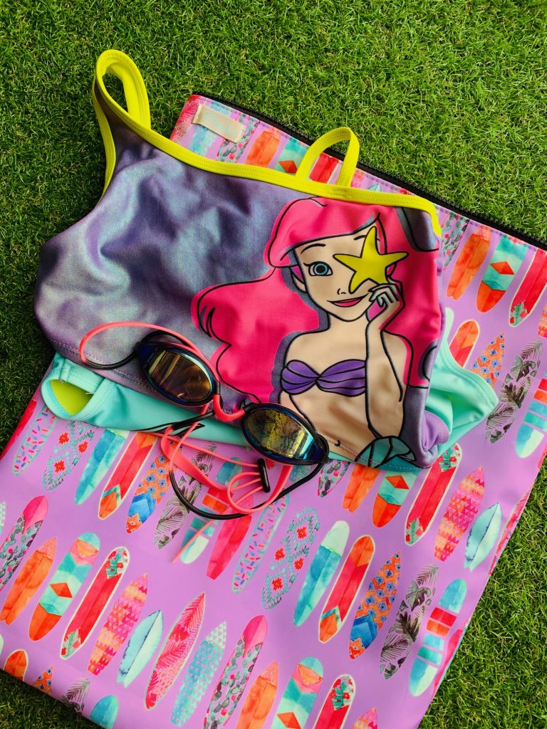 surfer girl wet bag