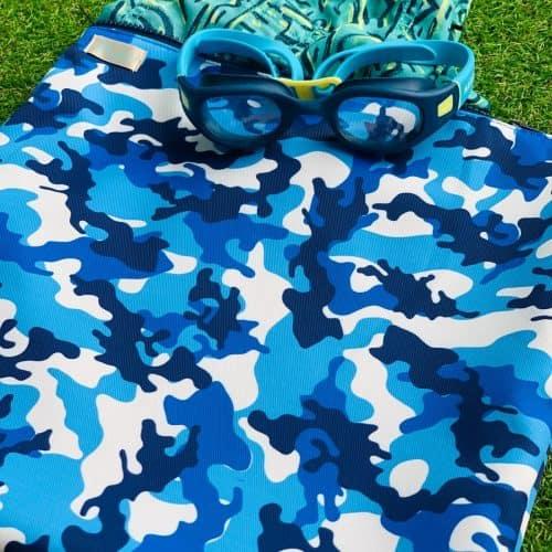 Blue Camo Wet Bag