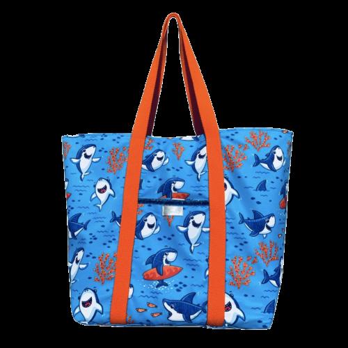 Shark Kids Swim Bag